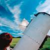 Sonnenbeobachtung im Observatorium